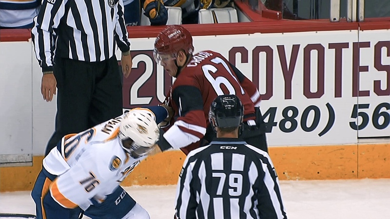 051717 Relive the Coyotes Top 5 Fights of 2016-17