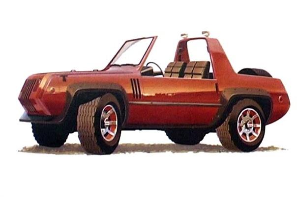 Вехи истории: 1979 Jeep Jeepster II В начале 1980-х AMC выступил с идеей этого коротенького спортивного автомобиля под названием «Jeepster 2». Эта концепция была больше похожа на джип (проверьте