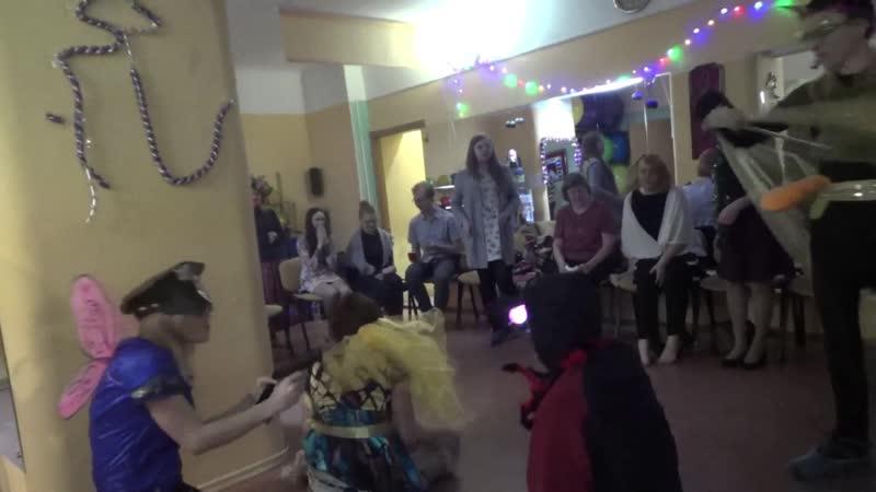 Предновогодняя вечеринка и спектакль Про муху-цокотуху
