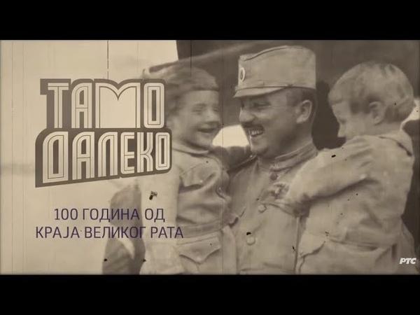 Tamo daleko - Sto godina od kraja Velikog rata