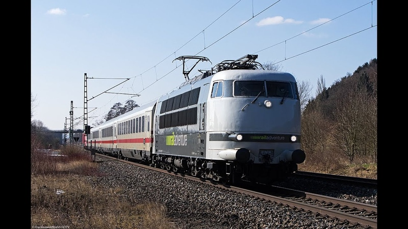Güterzüge auf der Frankenwaldbahn - Railadventure 103 mit Unfallzug, Raildox, TXL uvm.