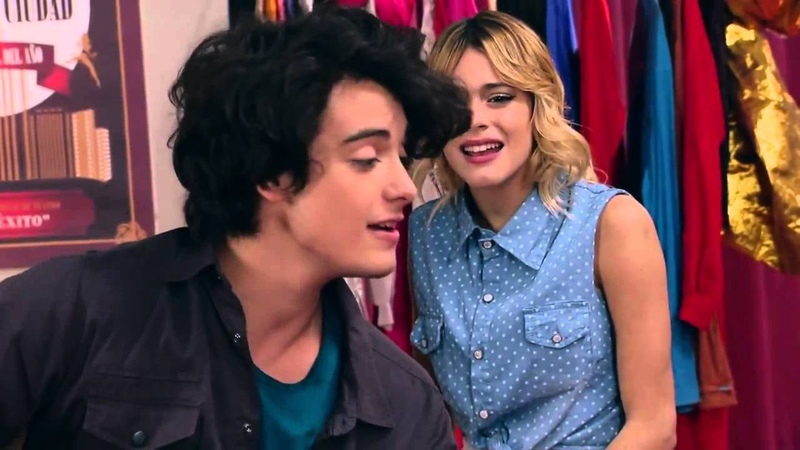 Виолетта 3 - Вилу, Диего и Марко поют Algo se enciende - серия 1
