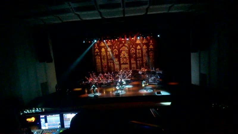 Metallica und Weißrussland Prezident orkestra, live Minsk 2018