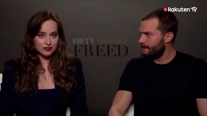 Jamie Dornan y Dakota Johnson sobre Fifty Shades Freed