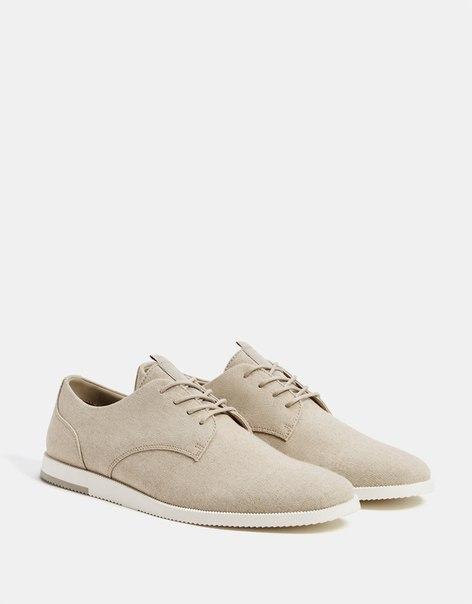 Мужские туфли из ткани