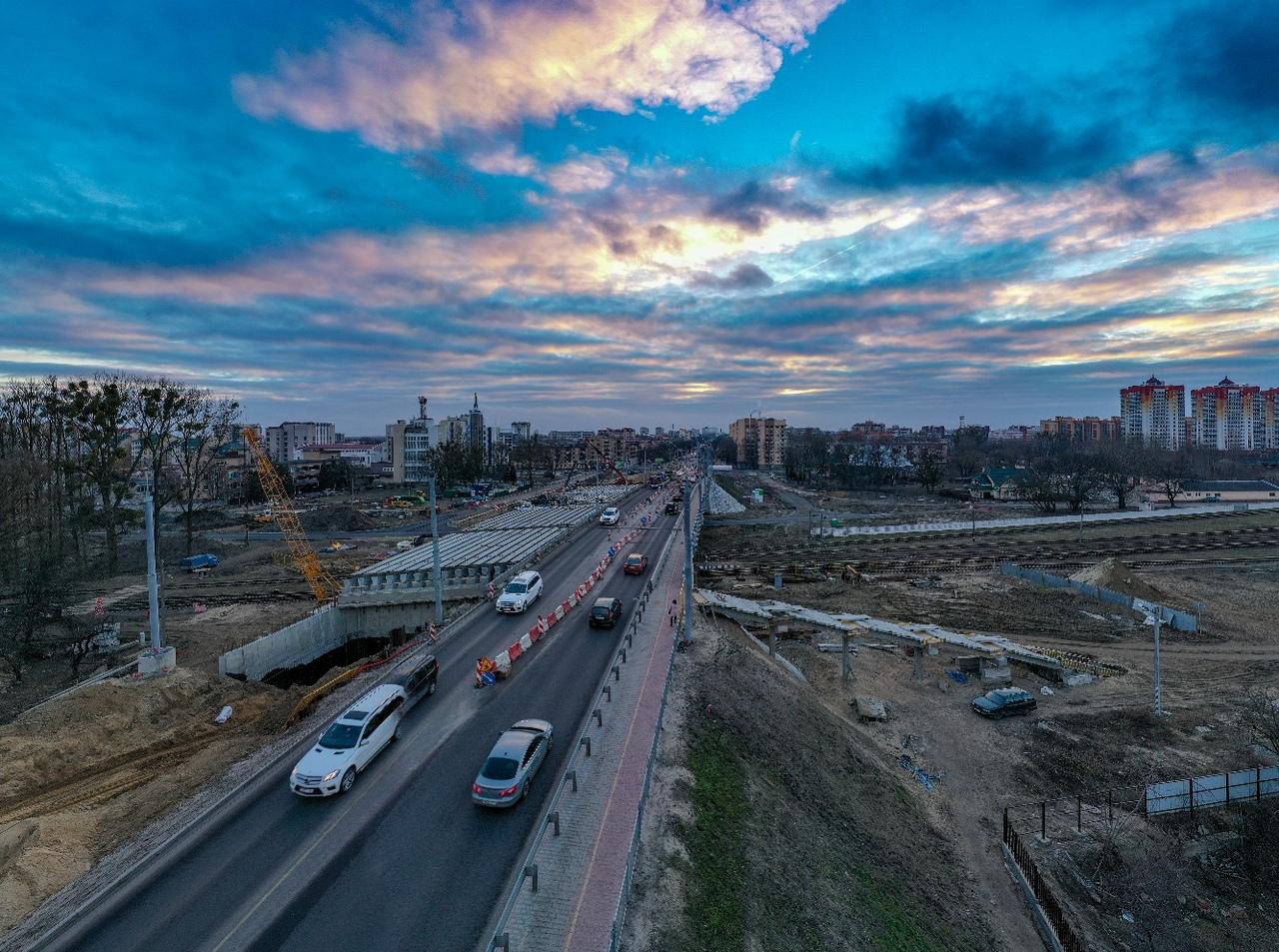 Реконструкцию Кобринского путепровода в Бресте завершат в мае