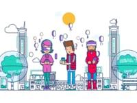 Анимационный ролик компании Intis Telecom для платформы smschain.org