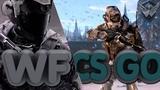 Нуб из warface играет в CS GO. Апаем глобала =D
