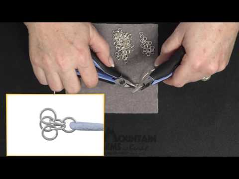 How to Start a Turkish Roundmaille in Chainmaille
