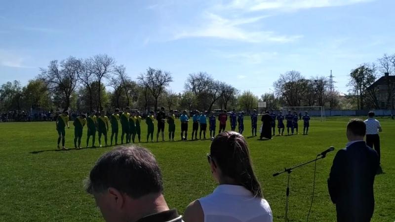 Посвящення футболістів перед футболом