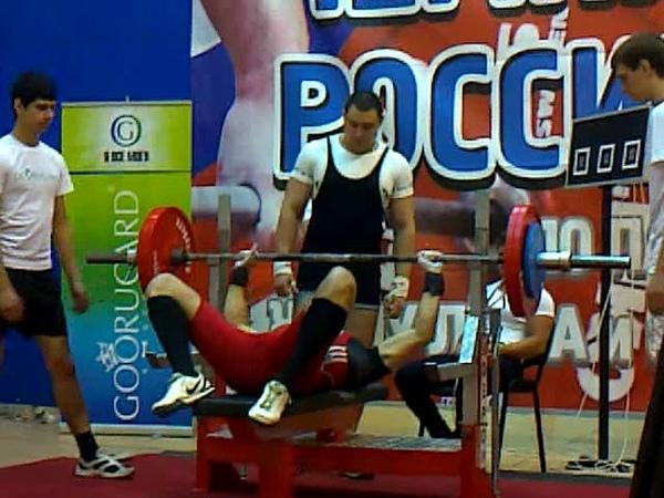 Чемпионат Росии 2012 AWPC по жиму лежа