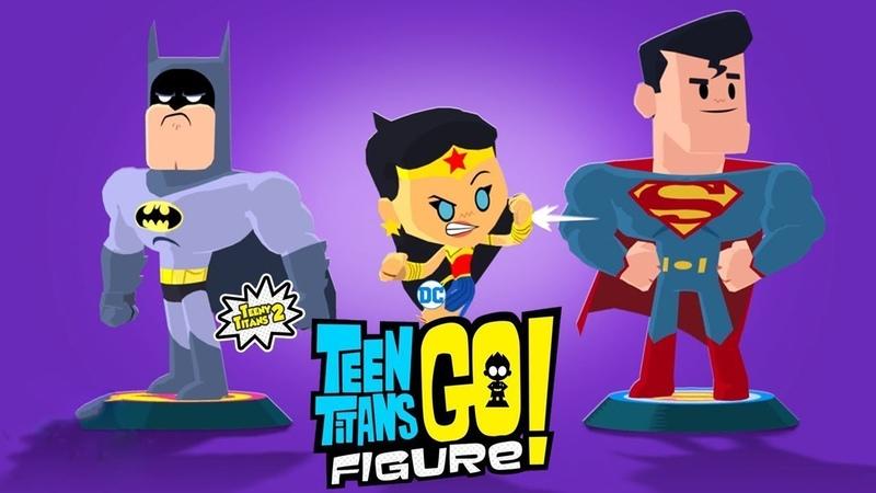 Мини Титаны (ЮНЫЕ ТИТАНЫ ВПЕРЕД 2)/Teen Titans Go! Figure - КТО БУДЕТ БОССОМ В ФИНАЛЕ