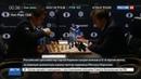 Новости на Россия 24 • Двенадцатая партия матча Карлсен-Карякин завершилась ничьей