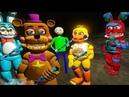 АНИМАТРОНИКИ ЗОМБИ И ФРЕДИ ДОМА ФНАФ Анимация Мультик Игра серия 431 GTA 5 Mods For Kids FNAF