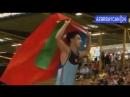 Турецкий борец победил армянина и поднял флаг Азербайджана