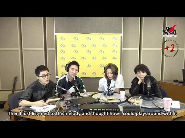 [Pадио] 180821 Звонок Джексону на гонконгском радио «903 Radio 口水多過浪花» (англ.саб.)