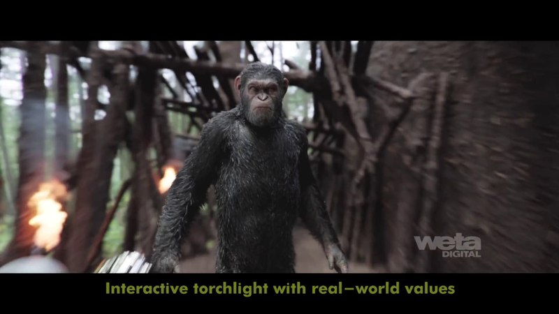 VFX Breakdown - War for the Planet of the Apes