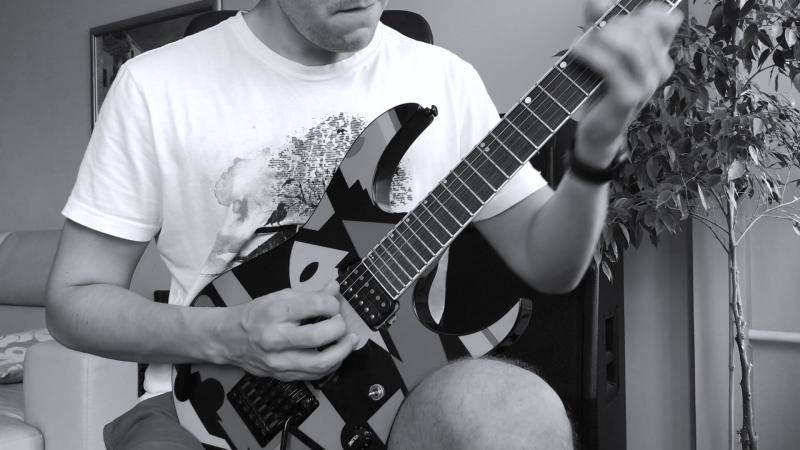 Metallica The Unforgiven Solo Cover
