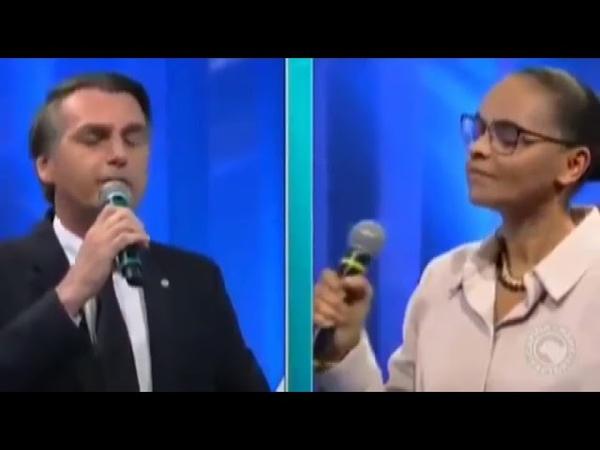 Bolsonaro Vs Marina - Águas de Março