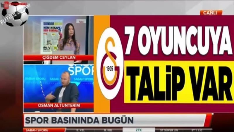 Galatasaray Sabah Sporu ¦ Gençlerbirliği Maçı ve Nagatomo Yorumları 6 NİSAN 2018