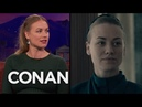 Yvonne Strahovski The Handmaid's Tale Cast Sing Taylor Swift On Set - CONAN on TBS