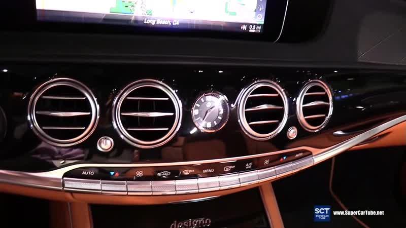 2019 Mercedes Benz S Class S 560 Concours S - Exterior Interior Walkaround - 2018 LA Auto Show