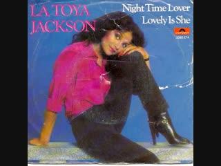 La Toya Jackson - Night Time Lover (1980)