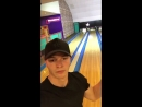 Lad gets a strike whilst taking a selfie