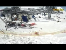 Gudauri Ski Lift accident Leaves at Least Ten injured - Part 2.mp4