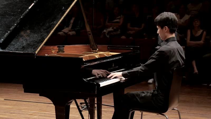 1004 (5) J. S. Bach - Partita para violín solo n.º 2, BWV 1004 5 Chaconne - Stephen Hung, piano