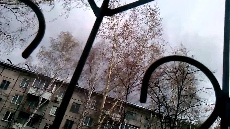 Ураган в Новосибирске 27.04.2015 (часть 4)