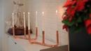 Cómo hacer un candelabro de cobre - Bricomanía