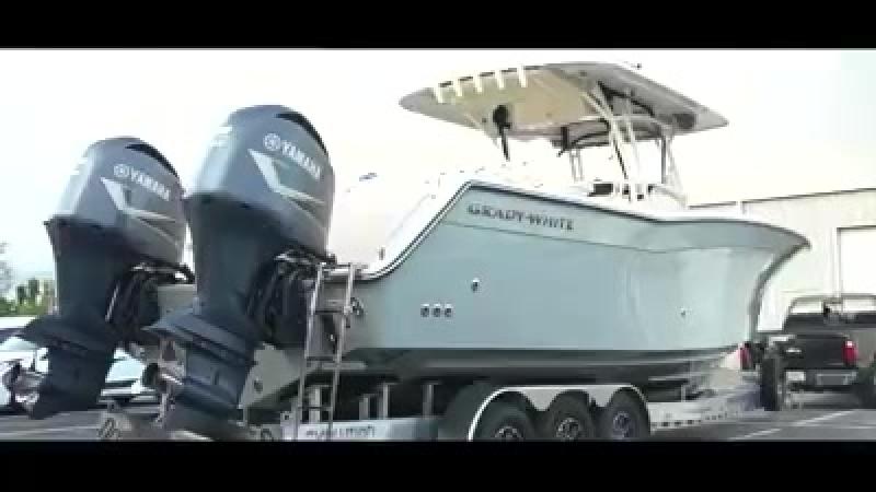 Максимальная защита катера Grady White с Ceramic Pro Marine!