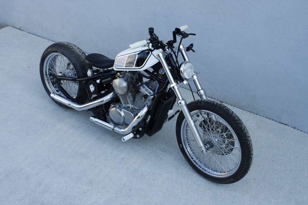 Seb Kustom: боббер Honda Shadow