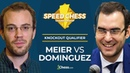 Speed Chess KO Qualifier Semifinal: Meier vs Dominguez
