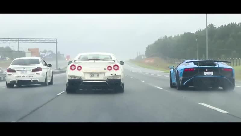 Спортивные машины в Майами. Supercar Ral...o - Miami (720p).mp4