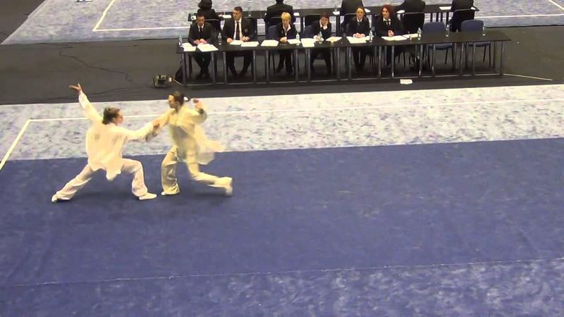 Светлана Фомицкая и Оксана Ефимова - Дуйлянь- 1 место (Чемпионат Европы 2014)