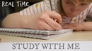Study With Me Real Time || Night Before an Exam