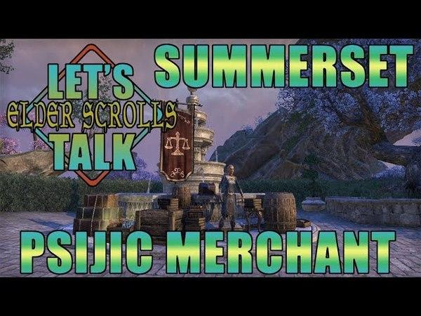 ESO Summerset Psijic Order Furnishings