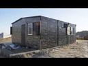 Уютный дом в Крыму за один день КрымТехКаркас