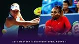 Daria Gavrilova vs. Serena Williams 2018 Western &amp Southern Open Round One WTA Highlights