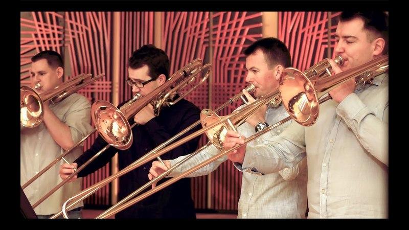 Holst: Mars, The Bringer of War from 'The Planets' - Szeged Trombone Ensemble - by György Gyivicsan /