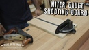 Make a Miter Gauge Shooting Board Tricks of the Trade