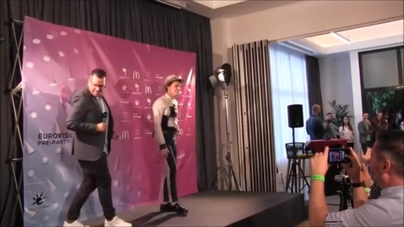 ESCKAZ in Madrid: Photo call at Press session - Eurovision-Spain Pre Party