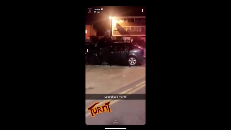 UK The usual multicultural clientele of diversity in Romford East London used a vehicle to drive pedestrians over the heap