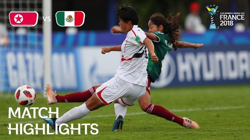 Korea DPR v. Mexico - FIFA U-20 Women's World Cup France 2018 - Match 11