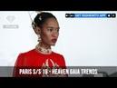 Paris Fashion Week Spring/Summer 2019 - Heaven Gaia Trends | FashionTV | FTV