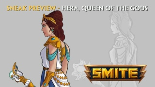 SMITE - Lore Sneak Preview - Hera, Queen of the Gods
