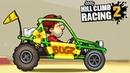 Hill Climb Racing 2.Игра как мультик про машинки, для детей