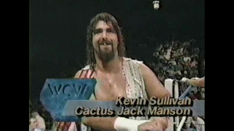 03.17 - Cactus Jack Kevin Sullivan VS Mike Rotunda Norman